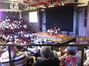 Inside the Synod Chamber.